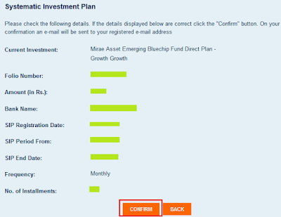 Mirae Asset Mutual Fund - Start Online SIP