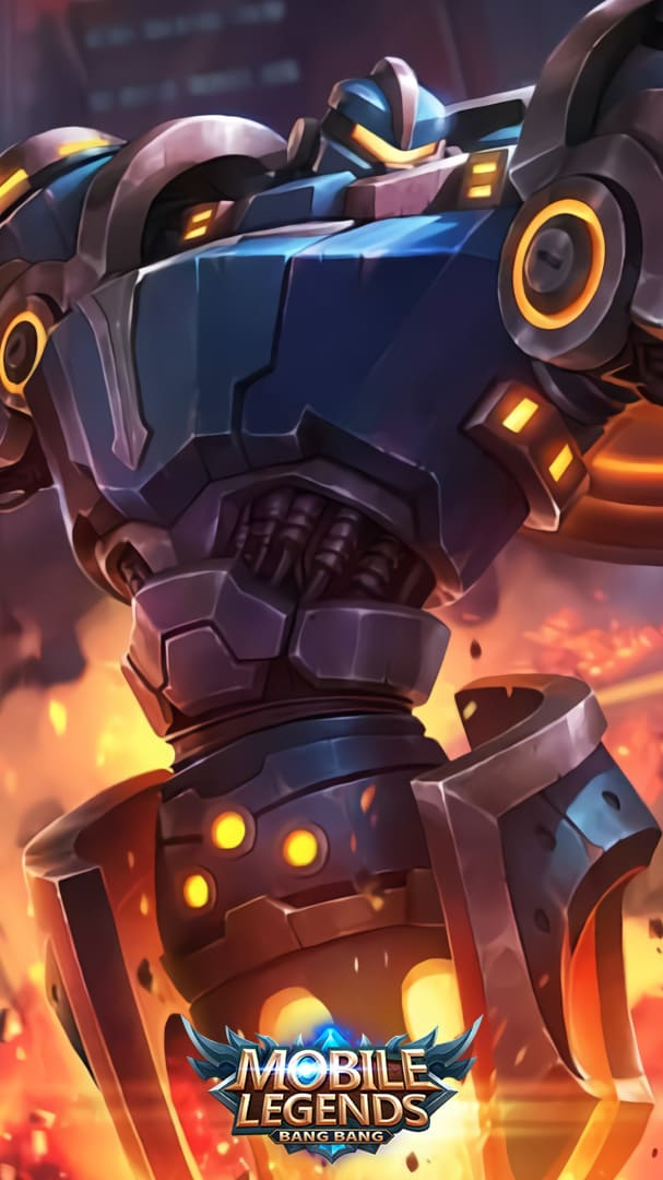 Wallpaper Uranus Mech Protector Skin Mobile Legends HD for Android and iOS