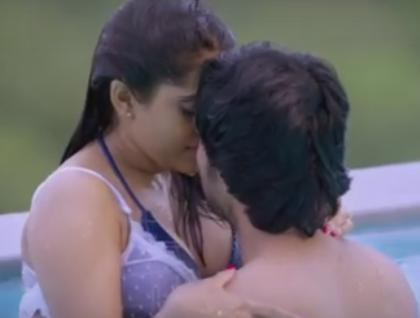 rashmi gautam hot images from guntur talkies movie
