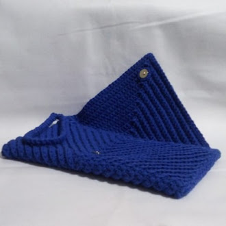CLUTCH ENVELOPE AZUL