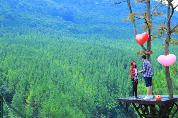 Suasana Alam Pegunungan Lembang Bandung