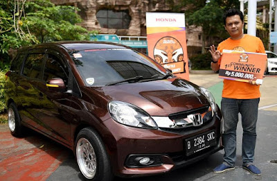 Pemenang Honda Mobilio Battle of Efficiency Seri 2