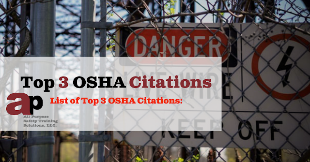 Top 3 OSHA Citations