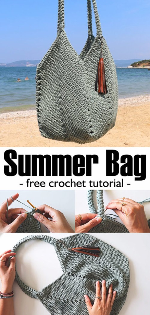 Summer Bag - Free Crochet Tutorial
