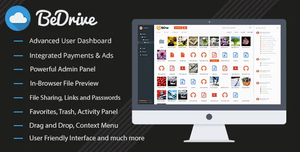 BeDrive v2.2.4 – File Sharing and Cloud Storage script nulled