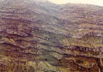 Aliran lava dan breksi gunungapi