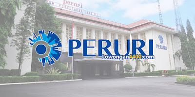 Lowongan Kerja PERUM PERURI (Perusahaan Umum Percetakan Uang Republik Indonesia) Agustus 2020