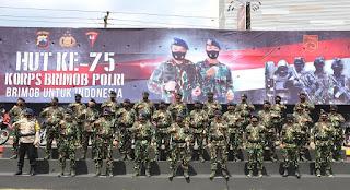 HUT Brimob Ke 75 Jadilah Kebanggaan Polri dan Rakyat Indonesia