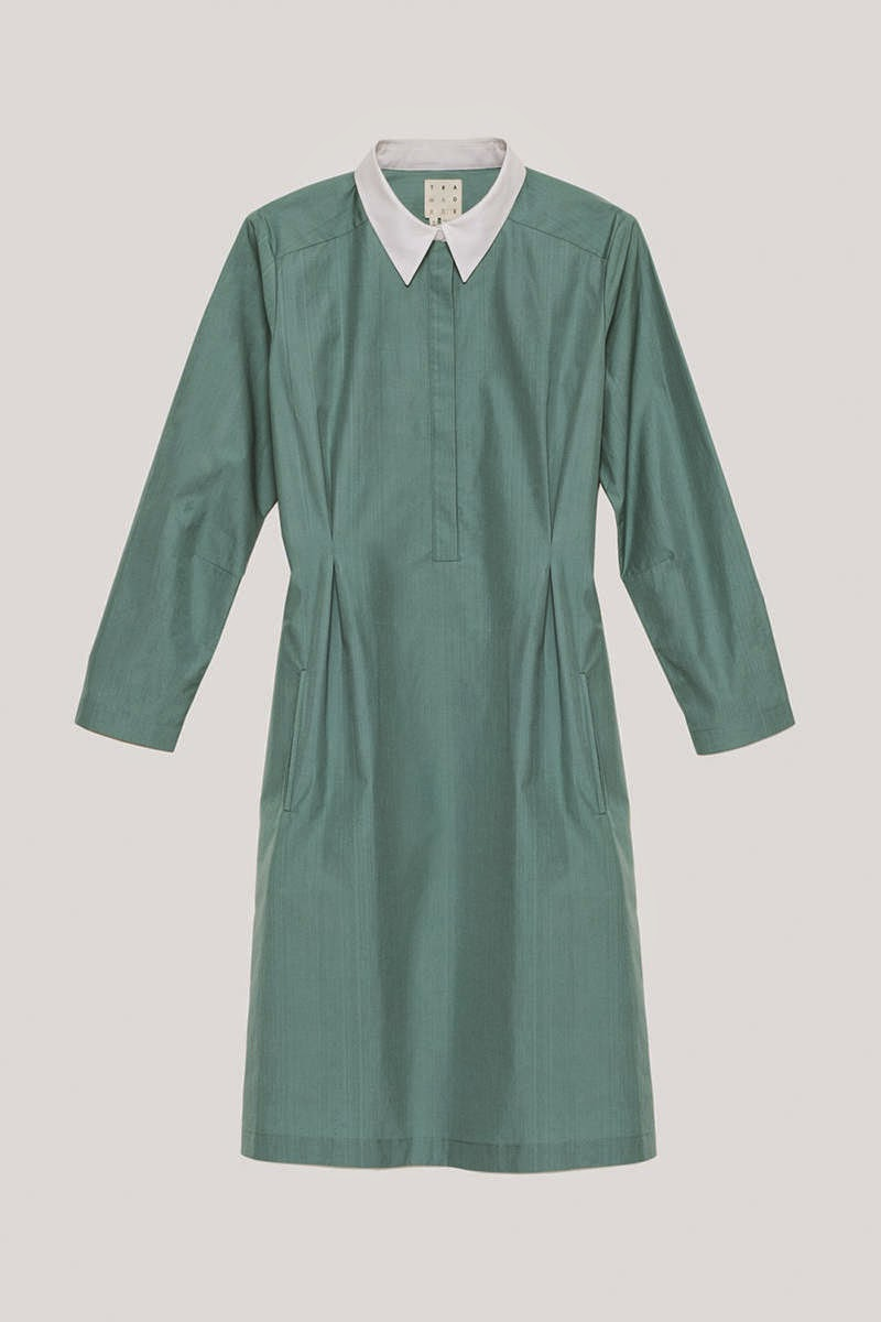 ec3db88256a We love a good shirt dress! Super functional and pulled together. This one  by trademark  Perfect! Such a simple frock. It has great shape to it.