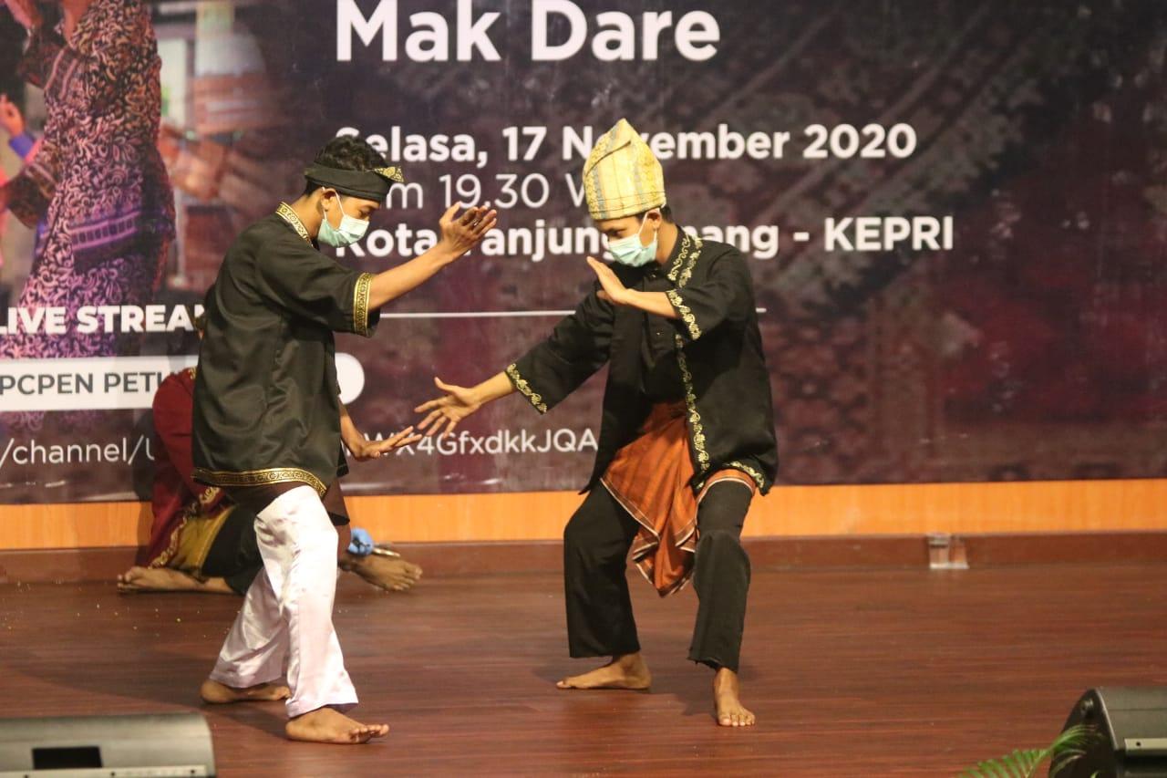 Pemko Sampaikan Informasi Penanganan Covid-19 Melalui Pertunjukan Tradisional Melayu Tanjungpinang