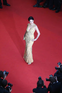 Mallika Sherawat at Cannes Film Festival Red carpet