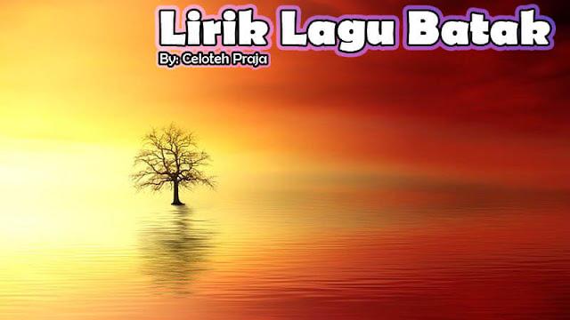 Lirik Lagu Batak Unang Ahu Solsoli |Ito Hasian Unang Sai Sunggul Sungguli Be Naung Salpui
