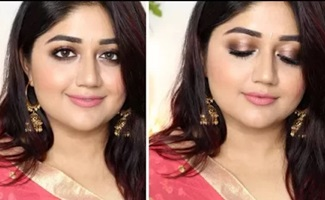 Indian Wedding Guest Makeup with FACES Canada