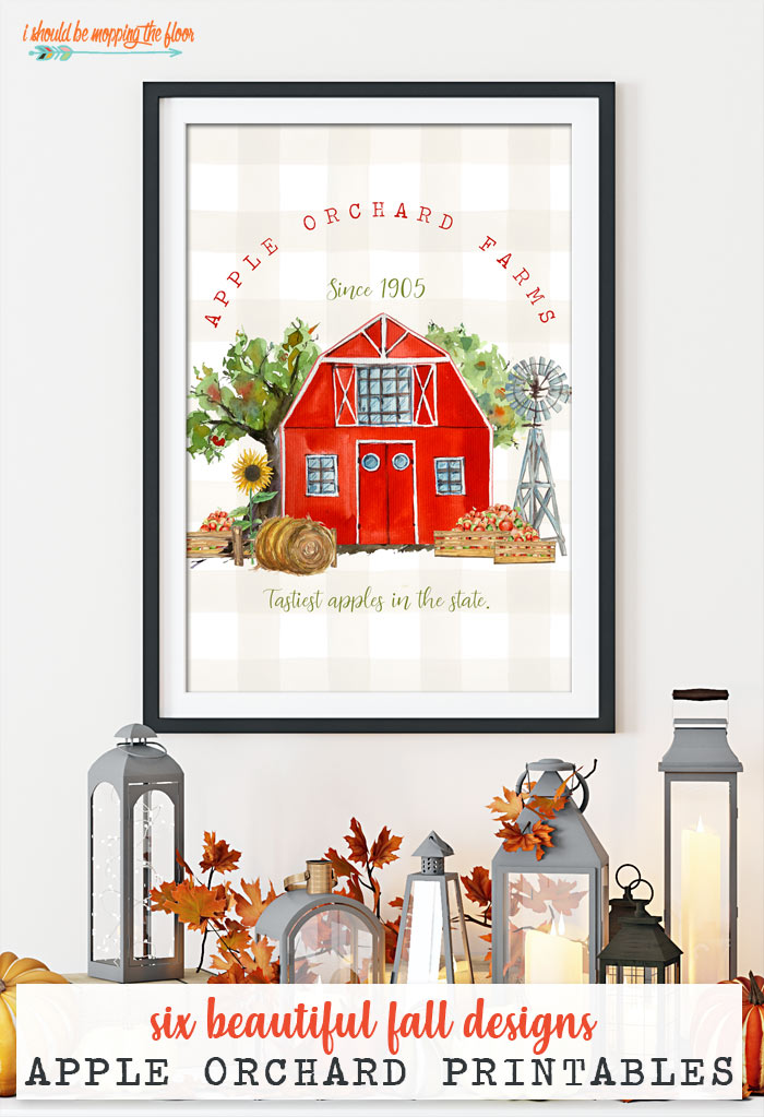 Apple Orchard Printables