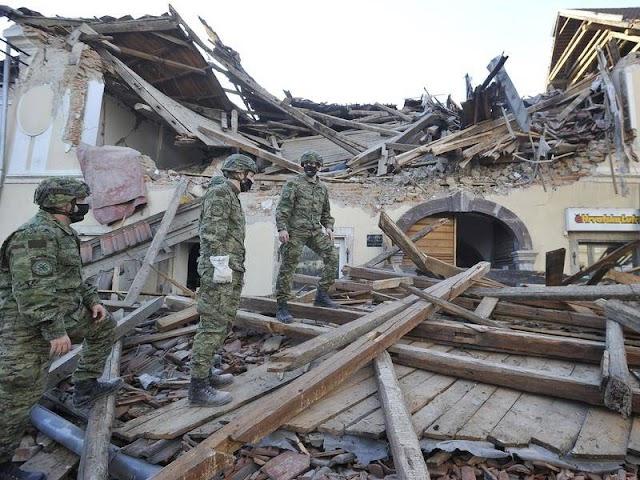 Major Earthquake in Petrinja,5 killed, 20 injured in the great earthquake in Croatia