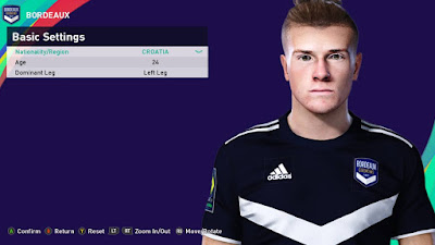 PES 2021 Faces Toma Bašić by Rachmad ABs