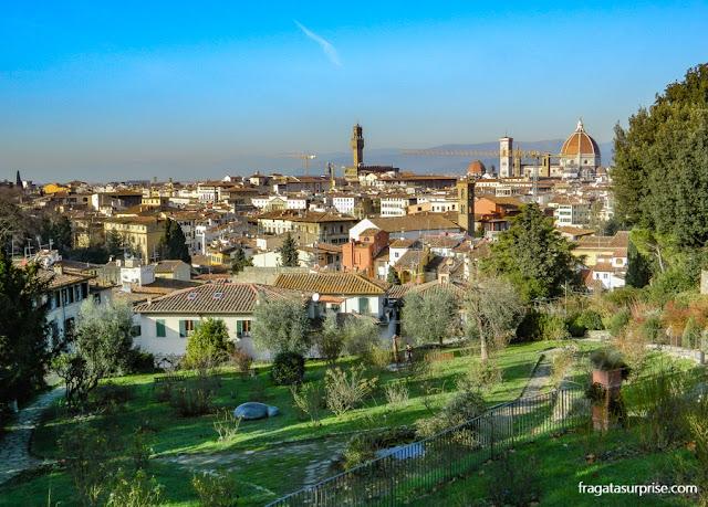 Florença - Jardim das Rosas, em Oltrarno