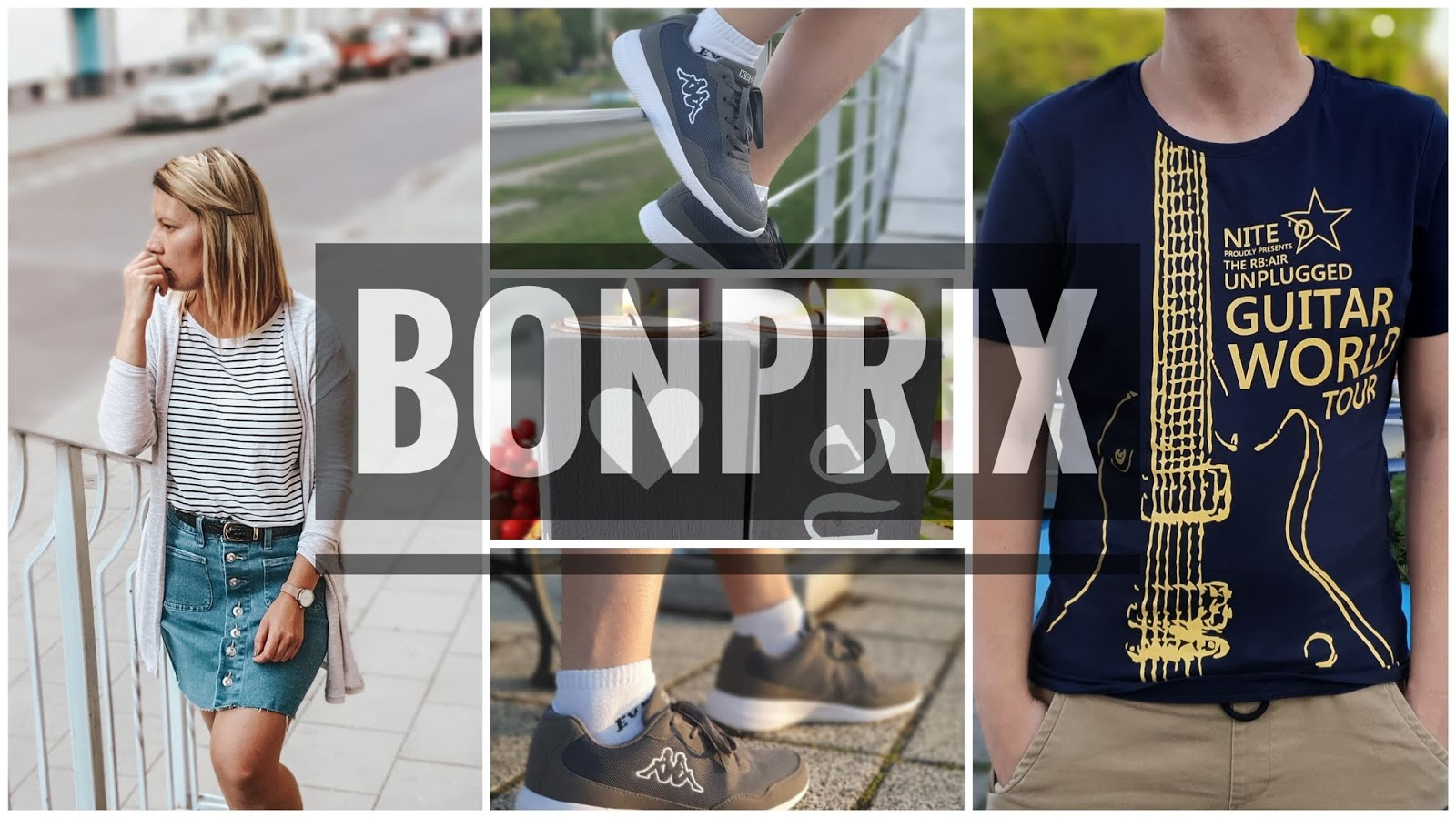 Moje pierwsze zamówienie z Bonprix - niby haul zakupowy, dla Niej, dla Niego i do domu..