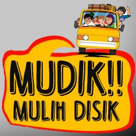 Gambar DP BBM lucu animasi bergerak Mudik lebaran 2016 1437 H