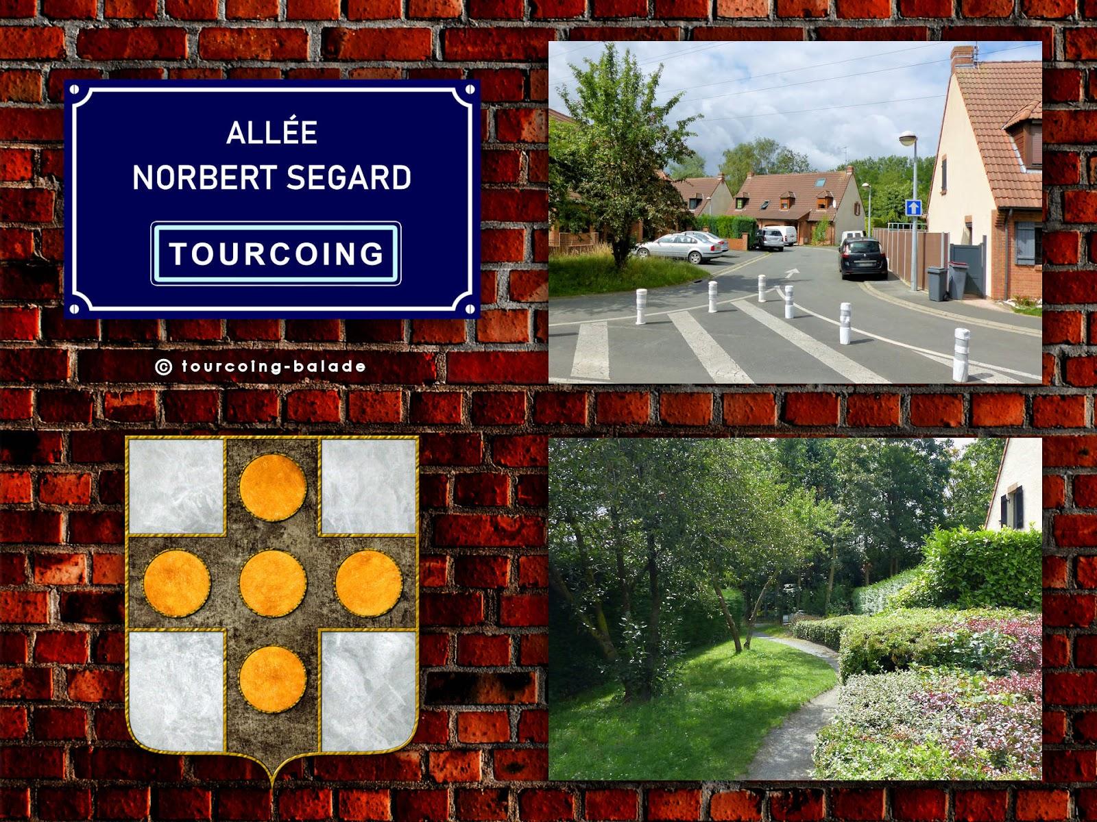 Tourcoing Rues - Allée Norbert Segard, Quartier du Clinquet