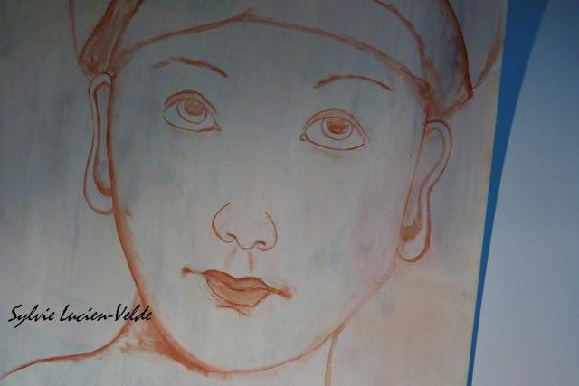 Ebauche tableau - Sylvie Lucien-Velde