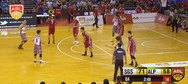 Singapore Slingers def. Alab Pilipinas, 77-67 (REPLAY VIDEO) Semis Game 1 / April 2