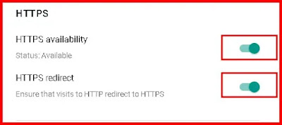 properly enable HTTPS on your Blogger