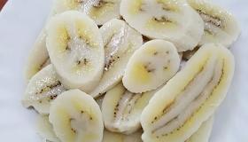กล้วยน้ำว้าต้ม