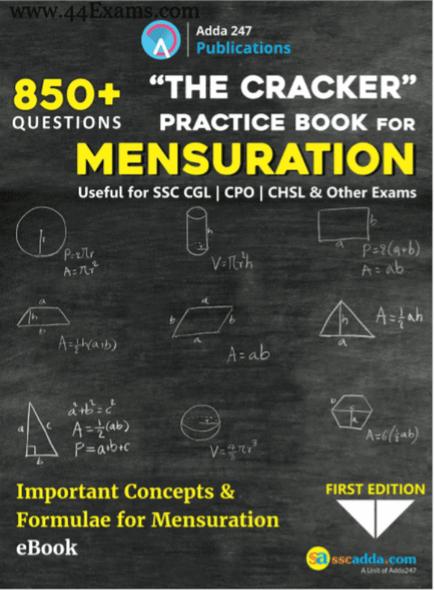 The-Cracker-Practice-Book-for-Mensuration-For-SSC-Exam-PDF-Book