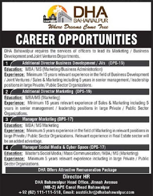defence-housing-authority-dha-jobs-2020-application-form
