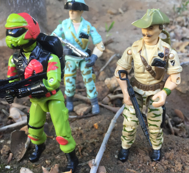 1984 Thin Green Stripe Variant Recondo, Red Laser Army Shimik, Mail Away, Steel Brigade, Bombadier, Black major, Starduster, Action Force, Palitoy