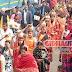 गिद्धौर में 3 दिवसीय अनुष्ठान शुरू, 108 कुंवारी कन्याओं ने निकाली कलश यात्रा