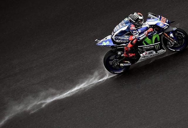berita motogp Lorenzo : Sekarang saya lebih PD, setelah bisa podium di lintasan basah