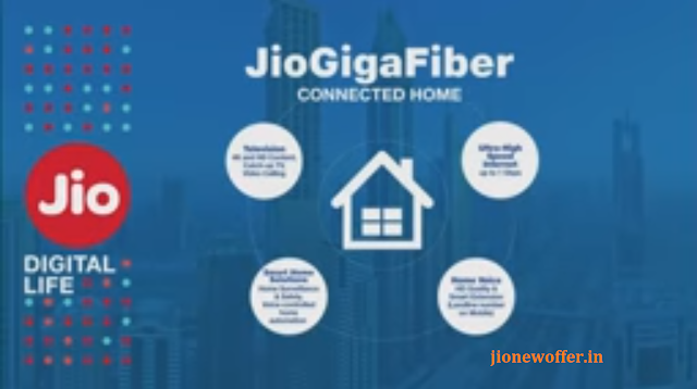 Jio Gigafiber Plans Price Started 700 per month Only - 4K set-top box See Detail