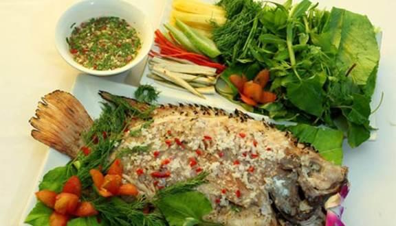 Món ăn làm từ cá của Năm Lửa 2 nhìn rất bắt mắt