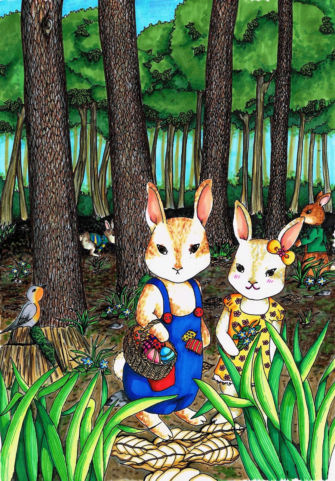 ostern eastern bunny
