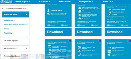 Website Corona Indonesia, Bisa Memantau Perkembangan Dari Rumah