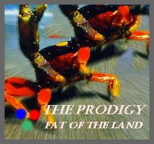 The Prodigy Album Fat Of The Land  cover