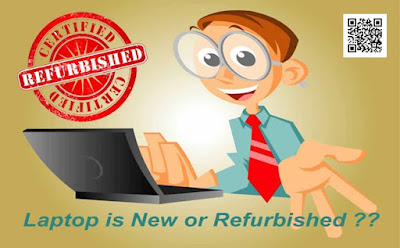 اجهزة لاب توب معاد تصنيعها  Refurbished or Recondition  معلومات مفيده لك قبل الشراء