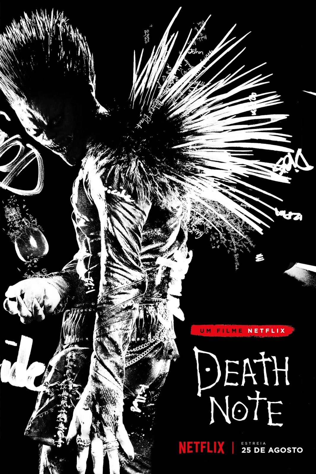 Death Note poster oficial da Netflix