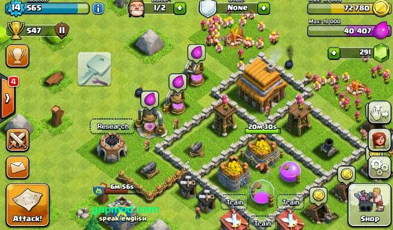 Download Clash of Clans Update v6.322.3 Apk
