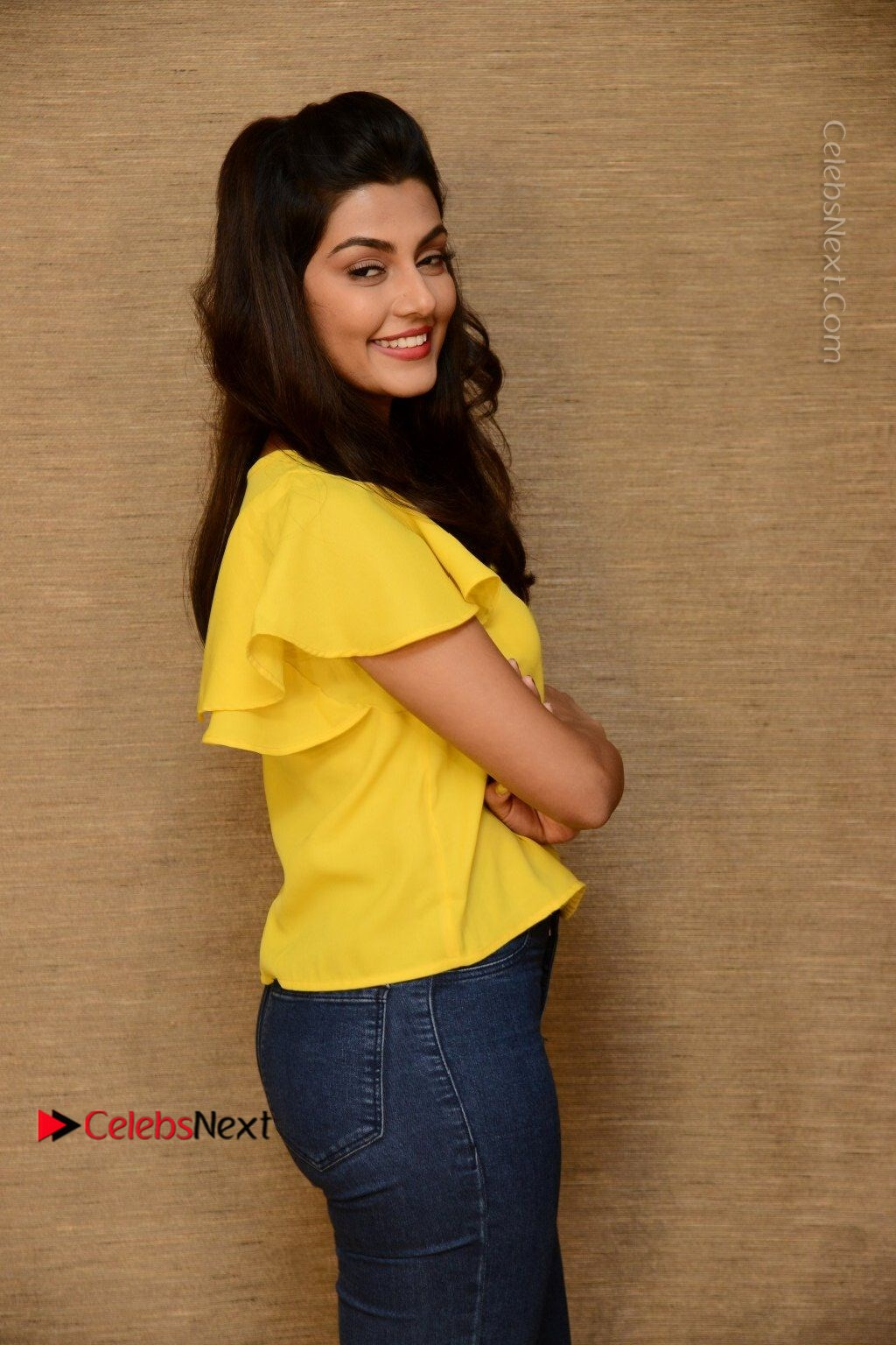 Actress Anisha Ambrose Latest Stills In Denim Jeans At Fashion Designer So Ladies Tailor Press Meet Com 0048 Anisha Ambrose Latest Stills In Denim Jeans At Fashion Designer S O Ladies Tailor