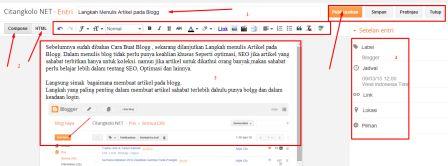 Langkah Menulis Artikel pada Blogg