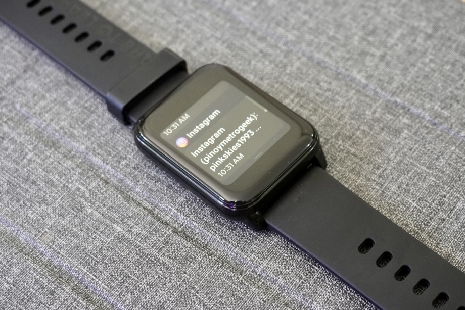 realme Watch 2 Review - Notifications