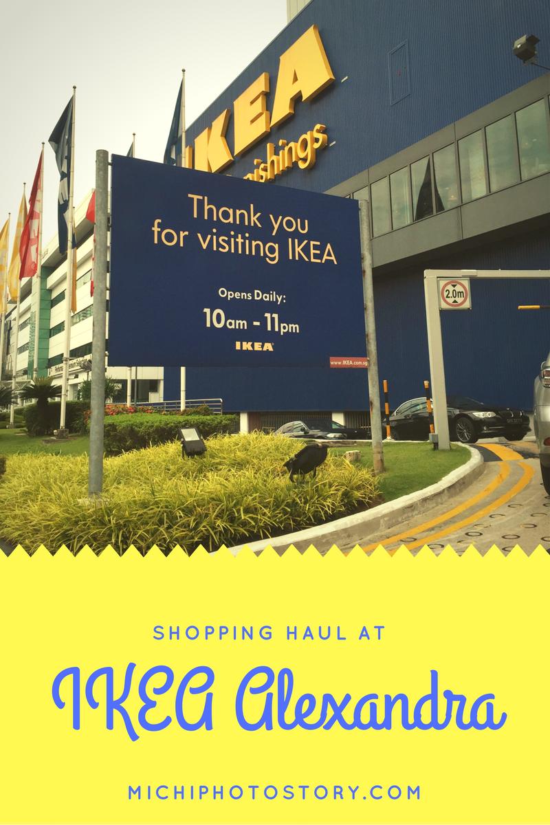 Michi Photostory: Singapore: Shopping at IKEA Alexandra