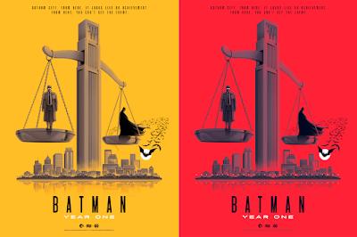 Batman: Year One Screen Print by Patrick Connan x Bottleneck Gallery x DC Comics