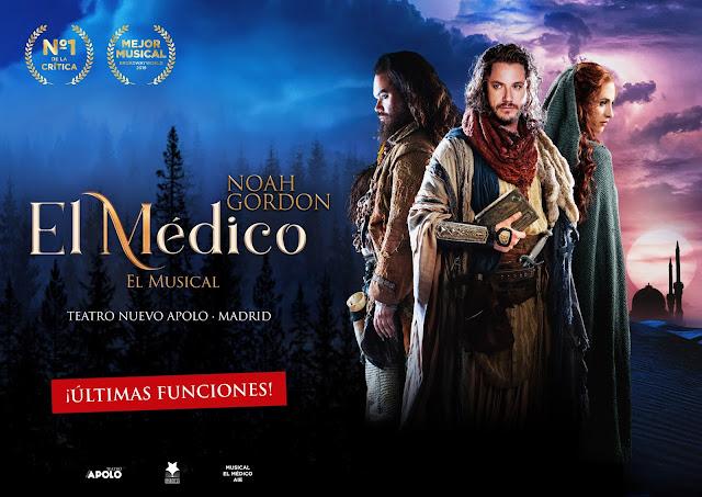 EL MÉDICO, EL MUSICAL: SEGUNDA TEMPORADA DE ÉXITO, DISFRUTE MUSICAL Y ARTÍSTICO