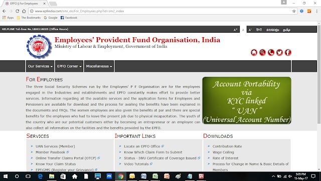 epfo-for-employees