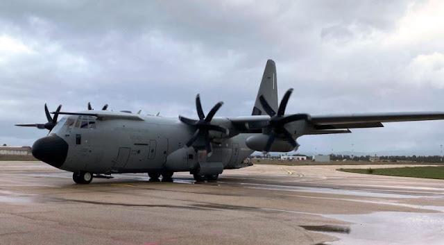 """""""Volo ambulanza"""" per bimba in pericolo di vita dell'Aeronautica Militare dalla Sardegna a Roma"""