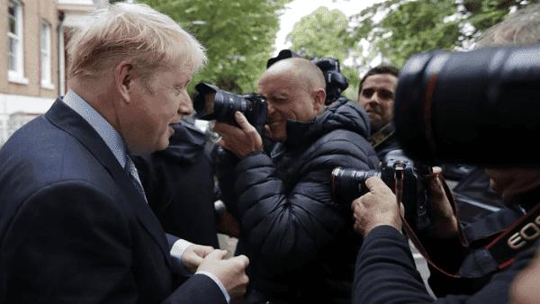 Boris Johnson gana primera ronda por liderazgo de Reino Unido